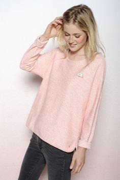 Sweat Hobie fraise - T-shirts m. longues et sweats - categories - e-shop