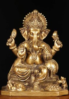 Ganesh, also known as Ganapati, in western India. He is the elephant-headed son of the Hindu gods Shiva and Parvati, and is widely worshipped throughout India. All who venerate and worship Ganesh will be able to overcome the vicissitudes and obstacles in life. The image of Ganesh is found in shops and stores and businesses. Beginning in the late 19th cent., the birthday of Ganesh became a central religious and political festival throughout western India.