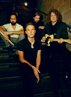the killers.. I've made up my mind. I'm gonna go marry Brandon, Ronnie, Dave, and Mark. all of them together!!!
