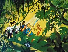 Les aventures de Tintin - Le temple du soleil