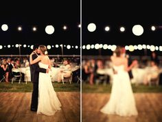 Our door wedding with awesome lighting and dance floor