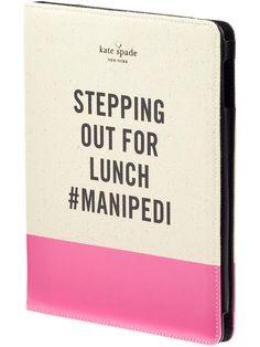Kate Spade Ipad Case | #manipedi