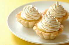 Individual lemon curd tarts!