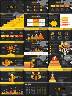 Training Courses PowerPoint charts | ImagineLayout.com