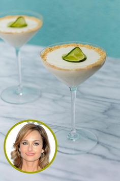 Learn how to make celebrity chef and Food Network star Giada De Laurentiis' key lime panna cotta.