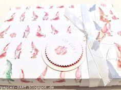 papierZART : Wichtelverpackung Teil 1, Basteln mit Draht, Weihnachten, Verpackungen, Wichtel, Alexandra Renke Desingpapier