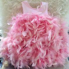 DIY Flamingo Halloween Costume for Toddlers! - Veronika's Blushing