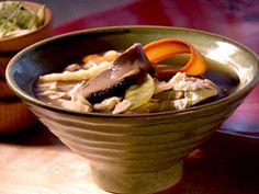 OR Ginseng Pork Soup Asian Mushroom Soup recipe from Dave Lieberman via Food Network Food Network Uk, Food Network Recipes, Cooking Recipes, Asian Mushroom Soup Recipe, Asian Recipes, Healthy Recipes, Healthy Foods, Asian Foods, Yummy Recipes
