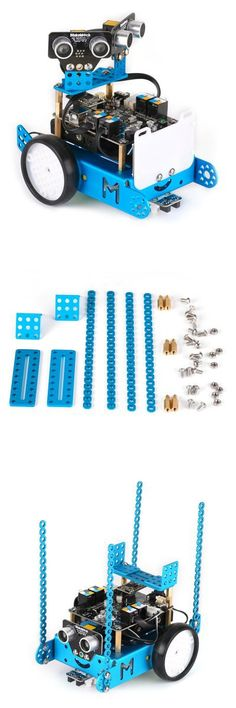 Arduino & SCM Supplies | Makeblock MBot Bracket Pack Robot Upgrade Kit $15.55