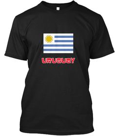 Uruguay Flag Retro Red Design Black T-Shirt Front - This is the perfect gift for someone who loves Uruguay. Thank you for visiting my page (Related terms: I Heart Uruguay,Uruguay,Uruguayan,Uruguay Travel,I Love My Country,Uruguay Flag, Uruguay Map,Uruguay #Uruguay, #Uruguayshirts...)