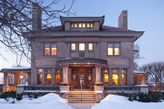 Built in 1906, this stunning home was designed for Lawrence Donaldson, who with his brother William, founded the Donaldson Department Store in Minneapolis. Description from historichomesofminnesota.com. I searched for this on bing.com/images