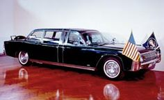 Kennedy Presidential Limousine - 1961 Lincoln Continental 4-door Convertible  This is the limousine in which President John F. Kennedy was assassinated that fateful day in Dallas, November 22, 1963