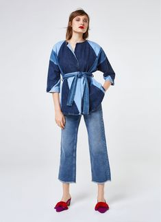 Vetements Jeans SS15PA04 BLUE | blue | Fashion, Denim und ...