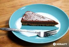 Sütés nélküli, mogyorókrémes torta