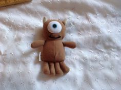 2001-Disney-Monsters-Inc-Little-Mikey-Mike-for-10-Babblin-Boo-Plush-3808