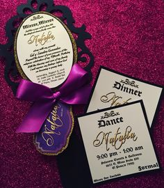 Descendants Xv them Cinderella invitations