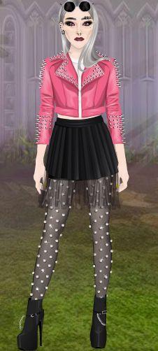 CutrRockybalboa #Stardoll #Outfit #PunkyGirl
