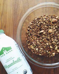 cacao granola | sasha yoga + wellness | #glutenfree #vegan #plantbased #healthyrecipe