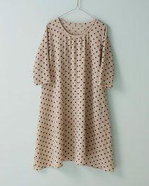 pindot/ホームクチュール/私の好きなシャツスタイル Japanese Sewing Patterns, Polka Dot Top, Couture, Shopping, Tops, Women, Fashion, Moda, Fashion Styles