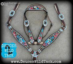 Deuces Wild Custom Tack - Love this set!<3