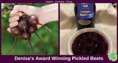 Denise's Award Winning Pickled Beets - Year of the Beet - National Garden Bureau Canning Pickles, Canning Lids, Beet Recipes, Veggie Recipes, Pickled Beets Recipe, Yummy Veggie, Vinegar And Water, Vegan Gluten Free, Pickling