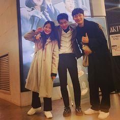 Sky C, Weightlifting Fairy Kim Bok Joo, Kdrama Actors, Drama Queens, Kpop Fashion, K Idols, Movie Tv, Castle, Couple Photos