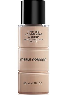 Timeless Age Defying Makeup Broad Spectrum SPF 20: ime will never tell with this age-defying liquid makeup containing Broad Spectrum SPF 20, Amino Acids and Antioxidants. Skin appears lifted by 44%, smoothness is improved by 65% and the appearance of fine lines is reduced by 55%.