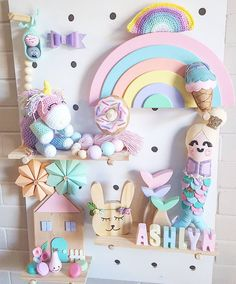 Kmart Peg Board, Donut Decorations, Letters For Kids, Pastel Decor, Mermaid Tails, Wooden Decor, Kids Decor, Girl Room, Kids Bedroom