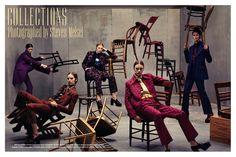 Vogue Italia luglio / July 2012,  Steven Meisel photography, Miu Miu Fall/Winter 2012-13