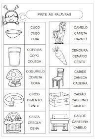 Dani Educar : Atividades letra B - Prática de leitura ...