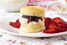Mini Lemon Scones with Strawberries and Cream: Don't worry about ...