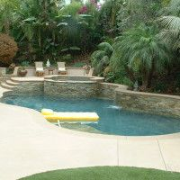 Fiberglass Pool Coping Paver Vs Cantilevered Concrete