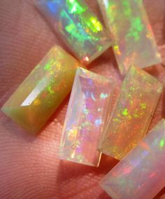 Opals - my absolute favorite.