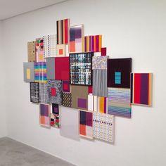 SnapWidget | Mônica Tinoco - Nova Abstração Nova, na Zipper Galeria