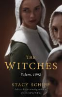 Look for THE WITCHES: SALEM, 1692 by Stacy Schiff at Nancy Guinn Memorial Library! You have access to this current Best Seller in Book [Large Print] Format with your PINES Library Card*. | *Available for check out with your valid PINES Library Card: Visit http://bit.ly/crls-gapines to place a hold on this title with your Library Card Number and 4 digit PIN – Call 770-388-5040 ext. 115 for PIN info. | #BestSellers: #Nonfiction at #CRLS www.conyersrockdalelibray.org