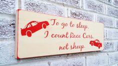Nascar race car theme, boy's nursery, little boy's room, race car decor, decorations, baby shower gift, mens gift, nascar collector