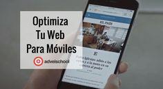 La optimización movil significa que usuarios que navegan en nuestro sitio tengan una buena experiencia. Aprende a optimizar un sitio web para móviles Aqui