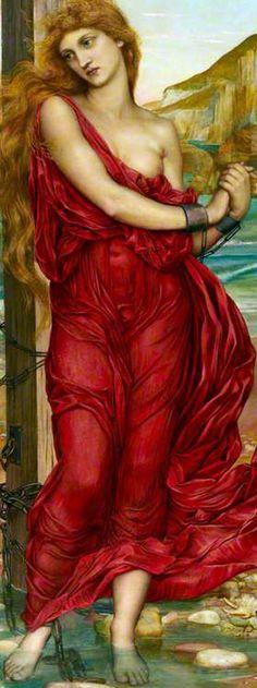 The Martyr Nazuraea - Evelyn Pickering De Morgan (detail)