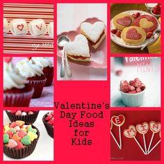 15 Valentine's Day Food Ideas for Your Kids. #valentinesday #valentines #kids