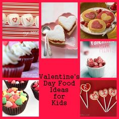 15 Valentine's Day Food Ideas for Your Kids. #valentinesday #valentines #kids