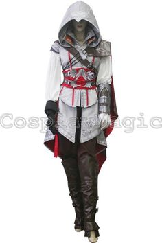 WANT => CosplayMagic.com -- Assassin's Creed II Ezio Auditore da Firenze Cosplay For Women