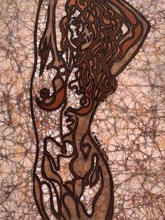 Fine art batik by Kevin Houchin. #batik #batikart