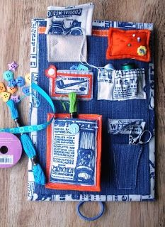 Travel Sewing case tutorial