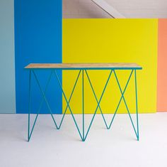 &new Giraffe Console Table-Turquoise | &new-giraffe-console-Turquoise | £672.00