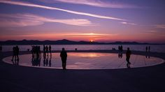 """You will saying """"It's easy to get a reward for such a good scene,"""" but I am very happy because I live in a beautiful country that gives me so much inspiration.  Thanks One Photo Editor! #award #Zadar #twilight """"sundown #sunset #dusk #sun #people #street #urban #city #town #Hrvatska #Croatia #Canon"""