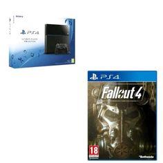 génial Console PS4 Sony 1 To Noire + Fallout 4 PS4 chez FNAC