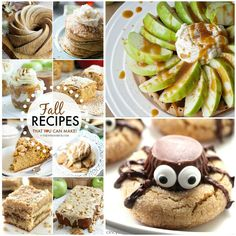 Halloween Fall Dessert Recipe | Recipes- The Best Fall Recipes over at the36thavenue.com Oh my ...