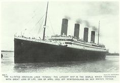 Images of the Titanic – Part 1