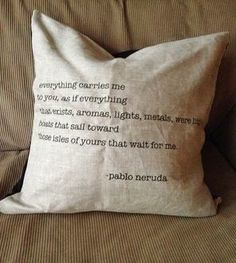 Linen Pablo Neruda