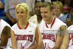 Justin Timberlake and Britney Spears at Challenge for the Children by Britney Jean Spears Britney Spears Justin Timberlake, Justin Timberlake Nsync, Britney Spears Outfits, Baby One More Time, Britney Jean, Best Icons, Cultura Pop, Celebrity Couples, No One Loves Me